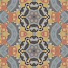 Lattice Bloom 2 Kalo Pattern Design by Jenny Meehan by JennyMeehan