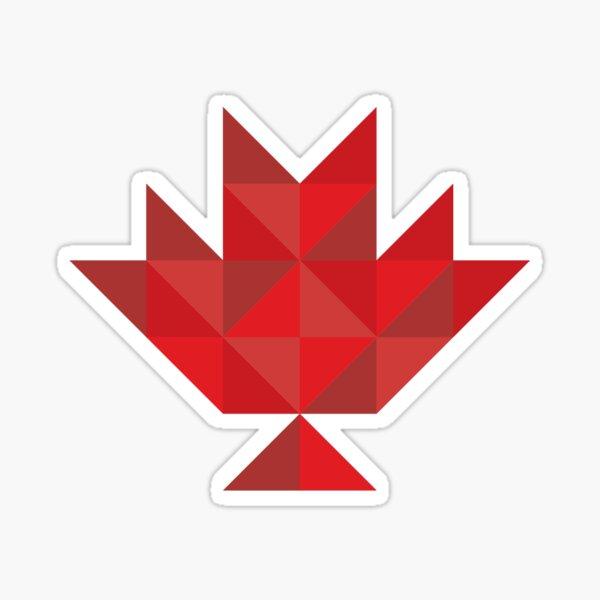Canadiana logomark red Sticker