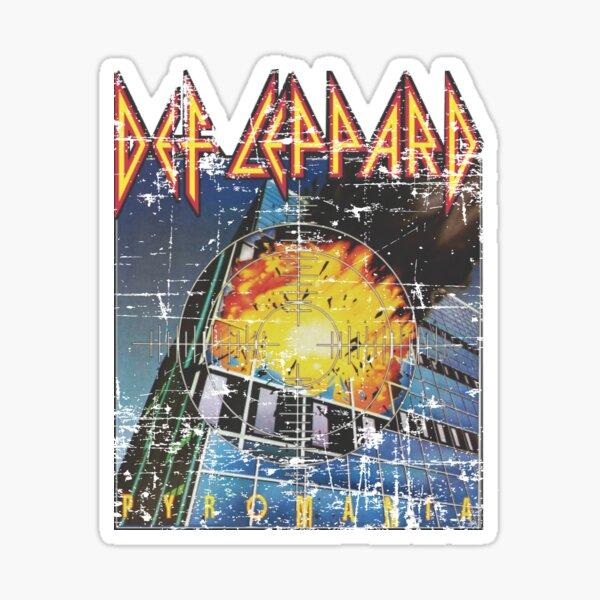 Best Seller clásico Rock n Roll Hard Rock Sleaze Heavy Metal Pyromania Pegatina