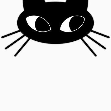 Black cat by trippitako