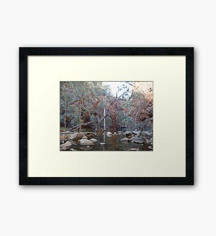 Eerie - Glen Ormiston Gorge Framed Print