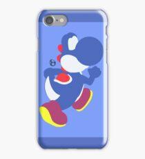Yoshi (Blue) - Super Smash Bros. iPhone Case/Skin