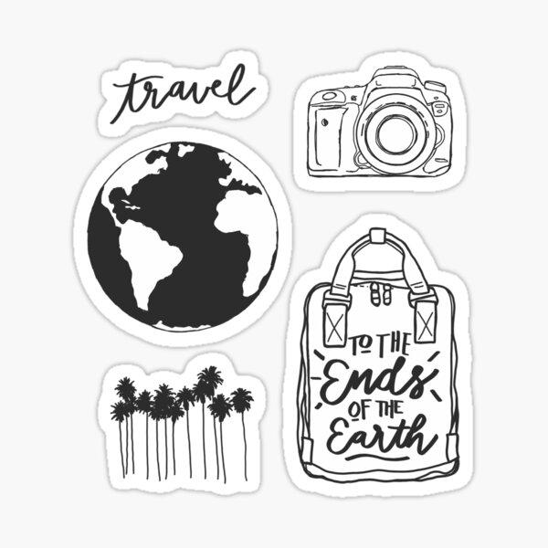 travel mini sticker pack Sticker