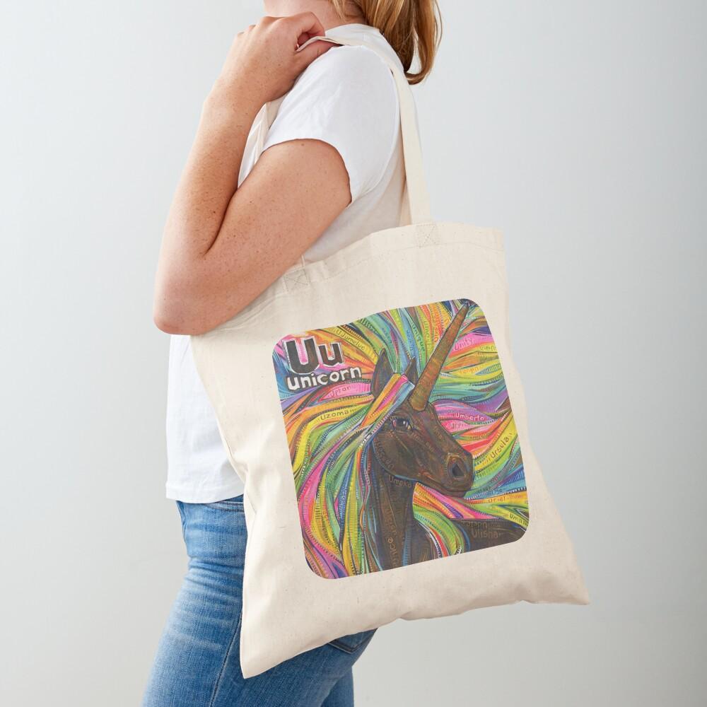 U Is for Unicorn - 2019 Tote Bag