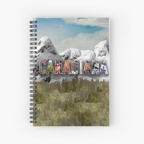Spiral Notebook Canadiana Logo Spiral Notebook