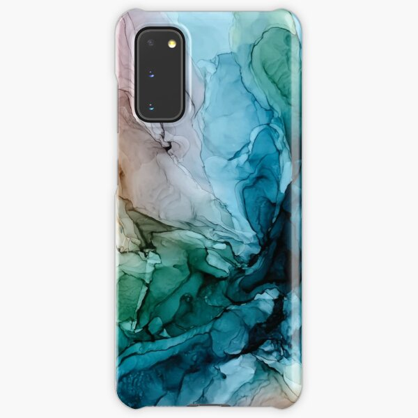 Salty Shores Colorful Abstract Painting Samsung Galaxy Snap Case