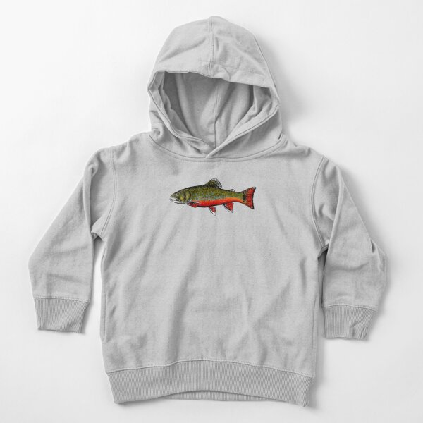 Brook Trout Toddler Pullover Hoodie