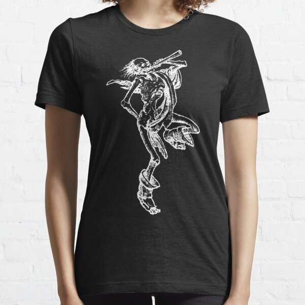 Dance of Death white on black Essential T-Shirt