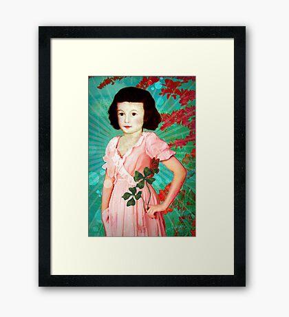 Lucky You Framed Print