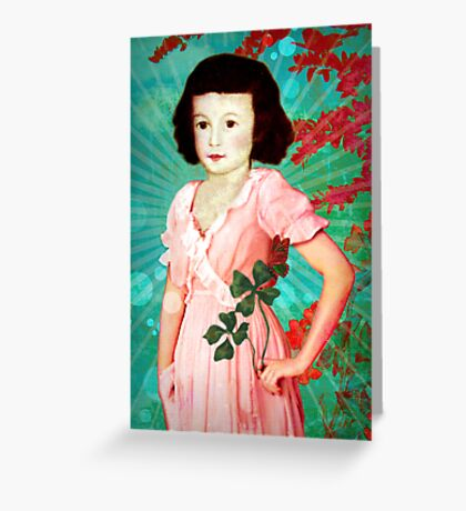 Lucky You Greeting Card