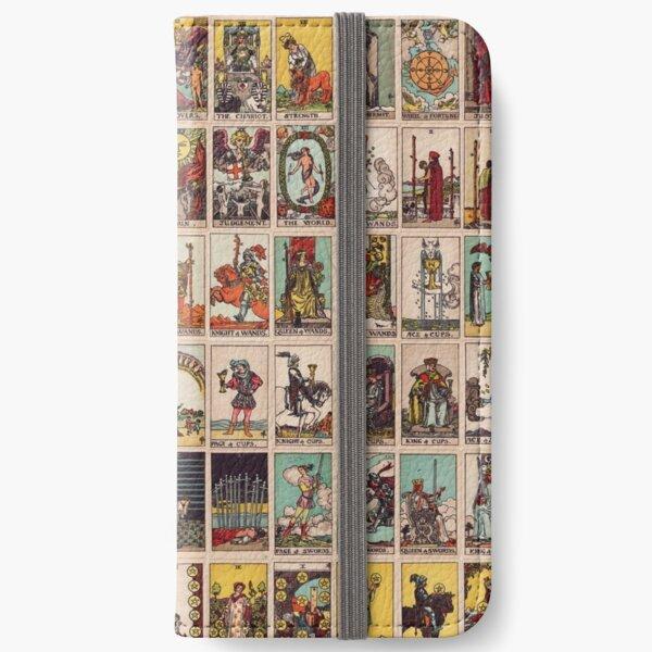 The Full Tarot deck. Major and Minor Arcana iPhone Wallet