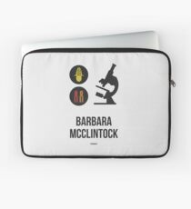 BARBARA MCCLINTOCK (Dark Lettering) - Clothing & Other Products Laptop Sleeve
