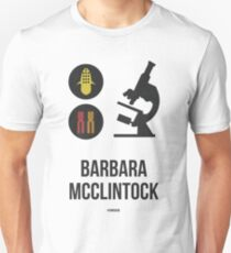 BARBARA MCCLINTOCK (Dark Lettering) - Clothing & Other Products T-Shirt