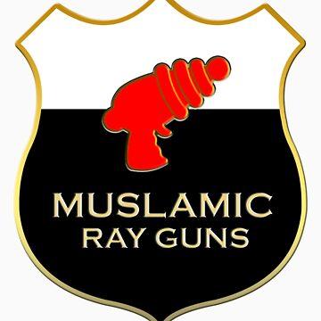 'Muslamic Ray Guns' Large Emblem by alexvegas