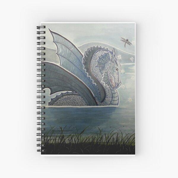 Dragon Charmer - Enchanted Dragon Art Spiral Notebook