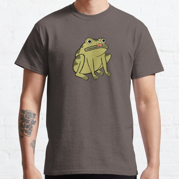 Frosch Derp - Über der Gartenmauer Classic T-Shirt