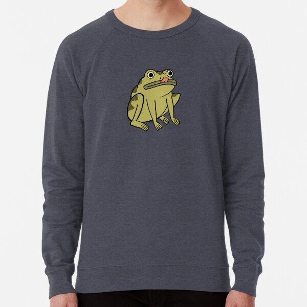 Frog Derp - Sobre el muro del jardín Sudadera ligera