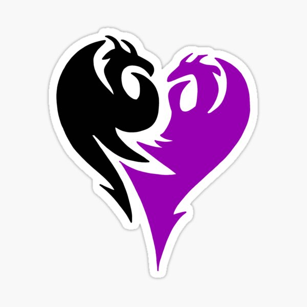 Descendants - Mal Logo Sticker