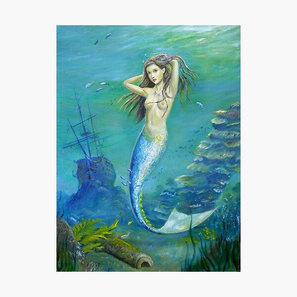 Mermaid of the Deep Photographic Print