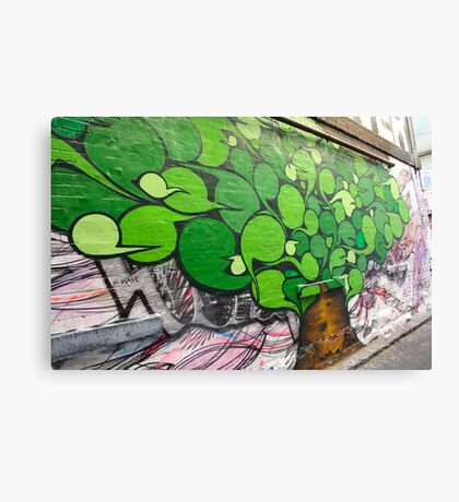Alley Tree Canvas Print