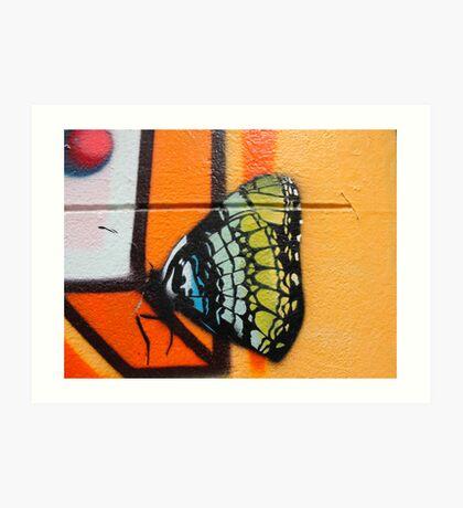 Butterfly Works Art Print