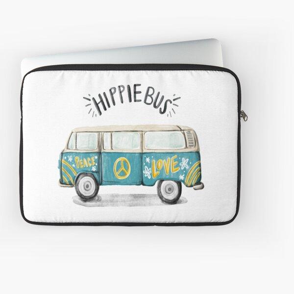 Hippie Bus Laptop Sleeve