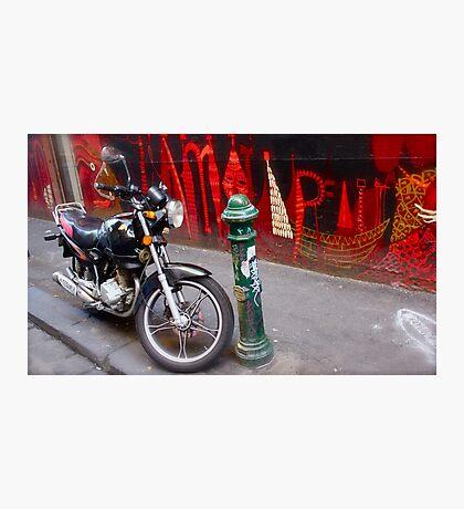 Lane way Love Photographic Print