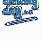Drawing Day Tee 2 by micklyn