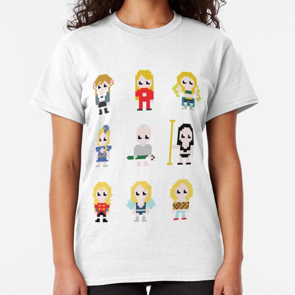 Trigger Cartoon Comic Zombie Cupcake Cult Kawaii Cosplay T-Shirt