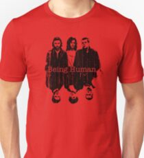 A Vampire, a Ghost and a Werewolf. 1st Generation Slim Fit T-Shirt