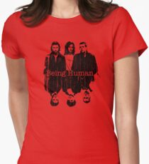 A Vampire, a Ghost and a Werewolf. 1st Generation Women's Fitted T-Shirt
