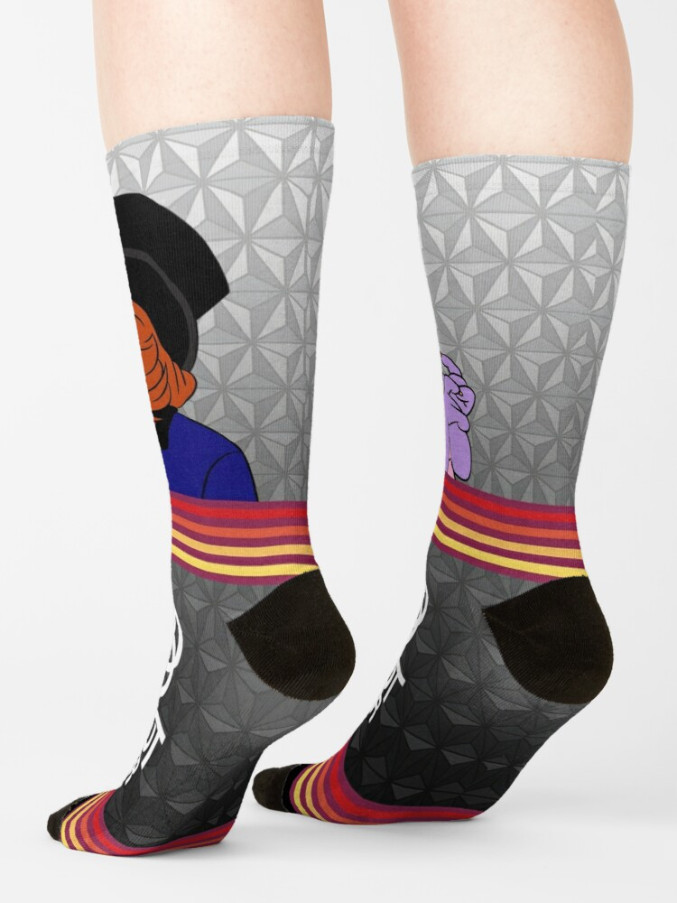 Alternate view of Figment and Dreamfinder Socks
