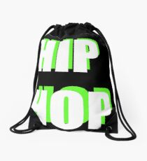 Hip Hop 2 Drawstring Bag