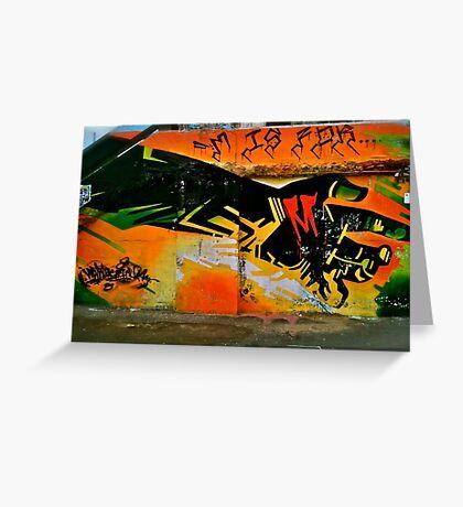 "HAndy"" StKilda Graffiti Greeting Card"