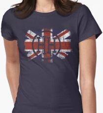 HH Union Jack Womens Fitted T-Shirt