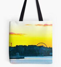 Eastern Sunset. Tote Bag