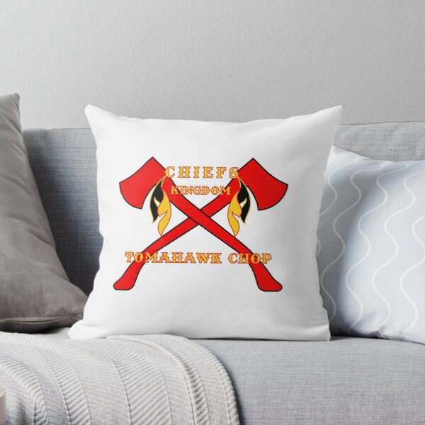 Chiefs Tomahawk Chop Throw Pillow