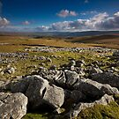 Distant Grassington by Andrew Leighton