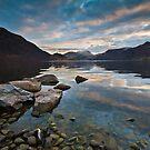 Ullswater at dusk by Shaun Whiteman