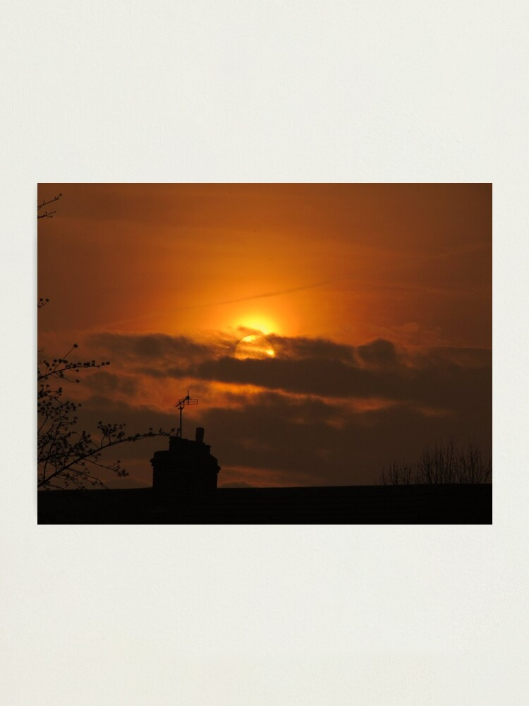 Alternate view of Golden Sunset 03 Photographic Print