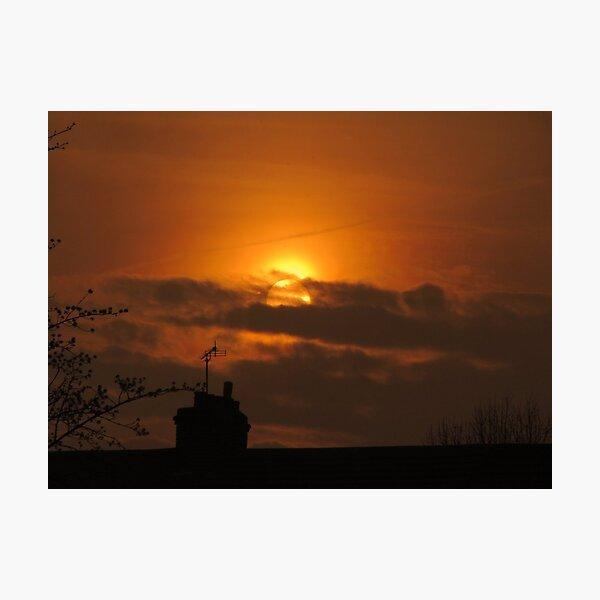 Golden Sunset 03 Photographic Print