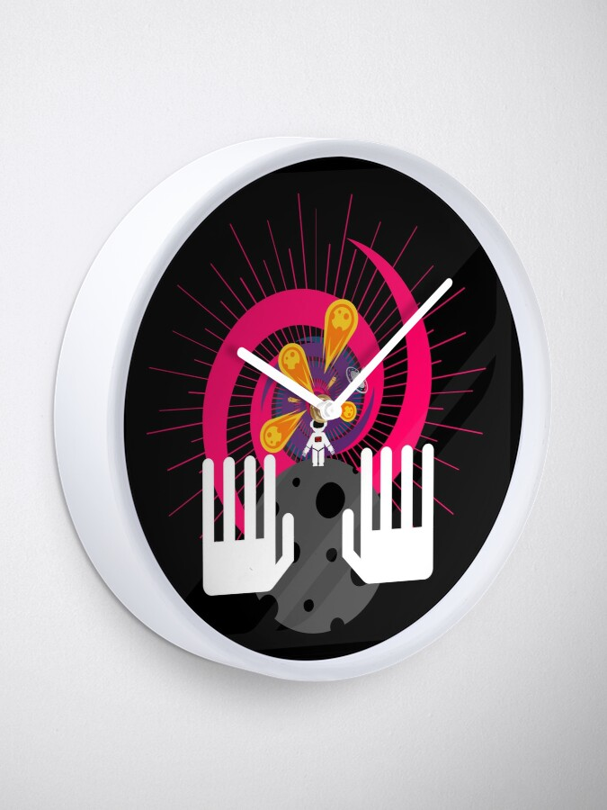 Alternate view of Left Behind Clock