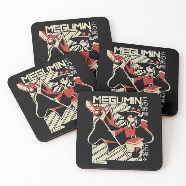 Megumin Coasters (Set of 4)