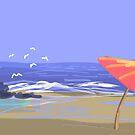 Beach by Nigel Silcock