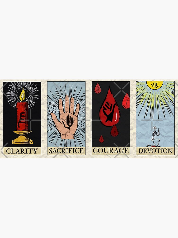 My Chemical Tarot Cards by WatsonCreations