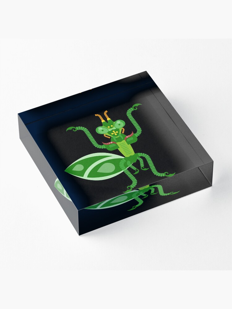 Alternate view of Mantis Acrylic Block