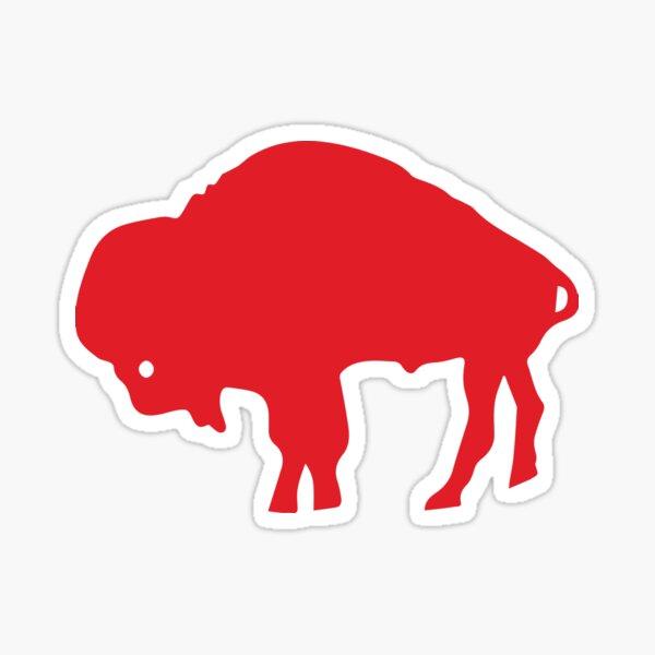 Red Buffalo Sticker