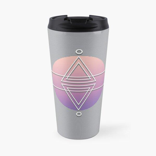 Pyramides abstractes Mug isotherme