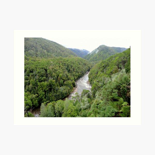 Franklin - Gordon Wild Rivers National Park, Tasmania Art Print