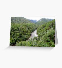 Franklin - Gordon Wild Rivers National Park, Tasmania Greeting Card